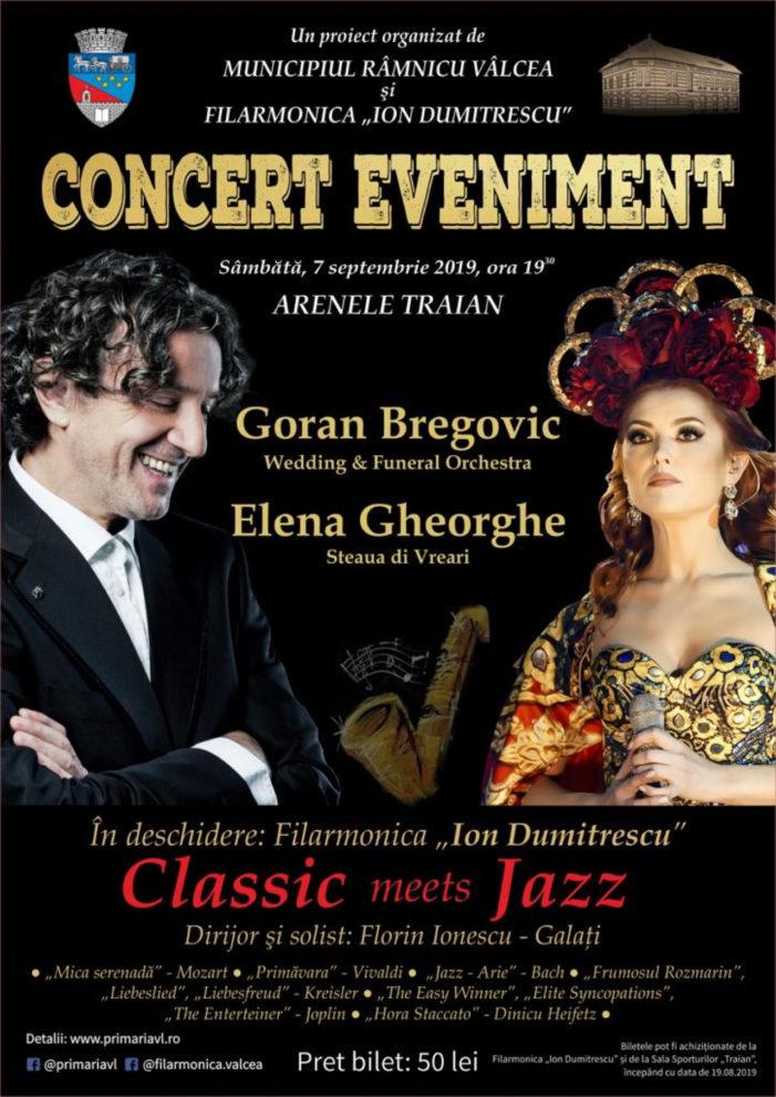 """De marţi, 20 august, se pun în vânzare biletele la concertul lui Goran Bregovic de la Arenele """"Traian"""""""