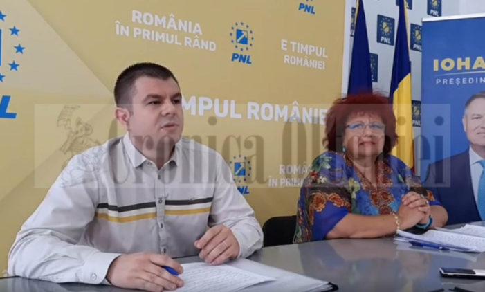 Video: Conferinta de presa PNL Craiova