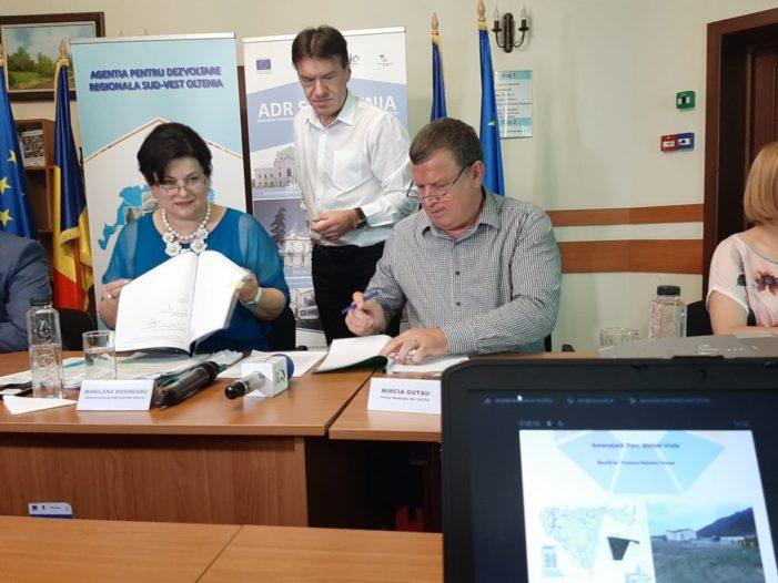 S-a semnat contractul de finanţare pentru Parcul Ştirbei Vodă!
