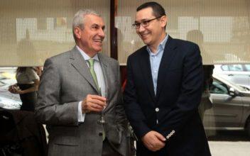 Tariceanu bate palma cu Ponta