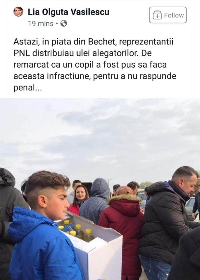 OLGUTA VASILESCU, ATAC, MINCIUNI, CAMPANIE