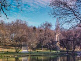 romanescu, parc, inchis, vant